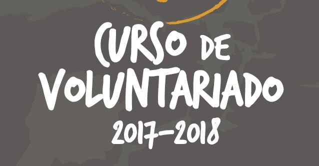 Apúntate al Curso de Voluntariado 2017-18