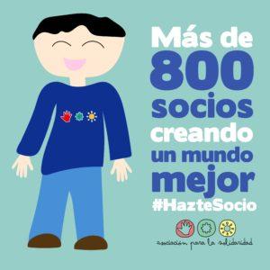 Campaña Hazte Socio