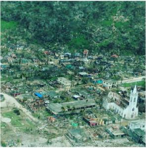 La ciudad de Les Cayes (Haití) después de Matthew. Foto: CSsR News