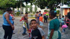 Los niños del Jardín de la Esperanza