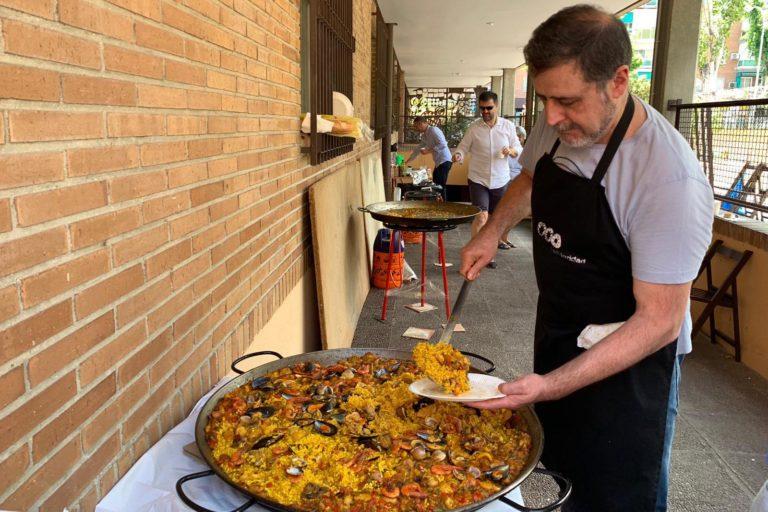 Paella Solidaria en San Gerardo